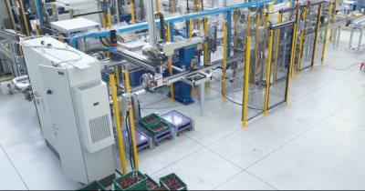 Image realization Line to assembly motor stator CTF Automazioni Srl