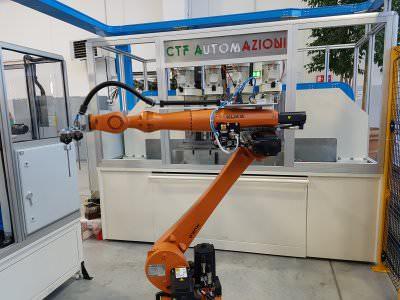 Image realization Assembling And Turning Rotor Machine CTF Automazioni Srl