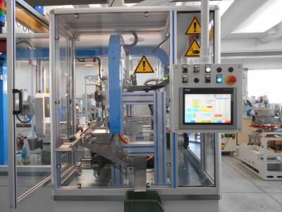 Image realization Motor turning line CTF Automazioni Srl