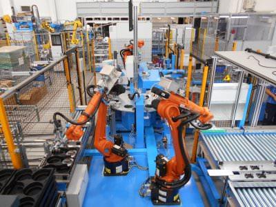 Image realization Radial Engine Assembly CTF Automazioni Srl