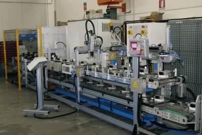 Image realization Automatic testing professional iron CTF Automazioni Srl