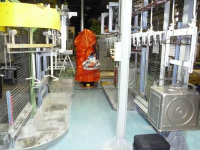 Image realization Automatic oven cave transfert CTF Automazioni Srl