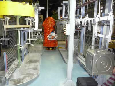 Image realization Unloading water heater enamel oven CTF Automazioni Srl