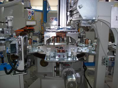 Image realization Welding flange line CTF Automazioni Srl