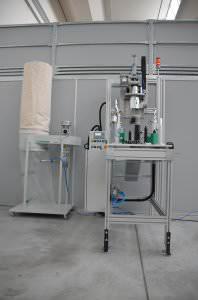 Image realization Cutting sprue machine CTF Automazioni Srl
