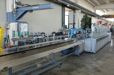 Image realization Aluminium profile hole maker machinary CTF Automazioni Srl