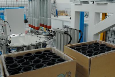 Image realization Video check up, lubrication and packaging gasket CTF Automazioni Srl