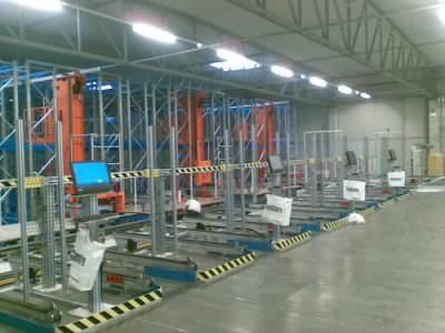 Immagine realizzazione Magazzino automatico CTF Automazioni Srl