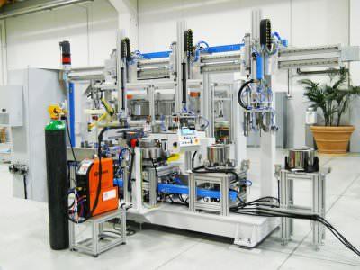 Immagine realizzazione Magazzino automatico in doppia fila per europallet CTF Automazioni Srl