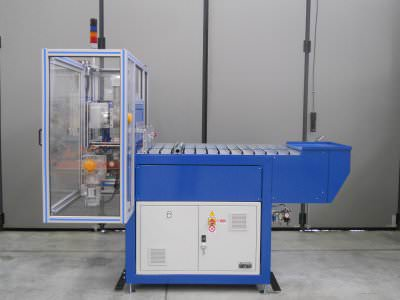 Image realization Electric motor coil support feeders CTF Automazioni Srl