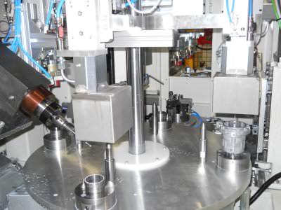 Image realization Bearing hub drilling machine CTF Automazioni Srl