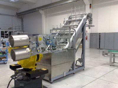 Immagine realizzazione Stampaggio membrana per autoclave CTF Automazioni Srl