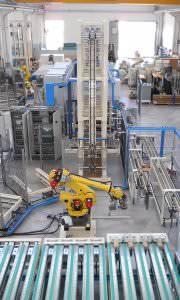 Immagine realizzazione Linea di pretrattamento mozzi ruote con successiva colata di poliuretano CTF Automazioni Srl